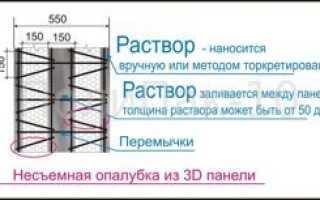 Расчет толщины стены по теплопроводности из разных материалов