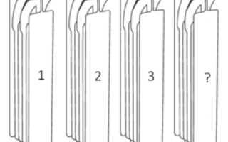 Расчет количества секций радиаторов отопления по площади, по объему