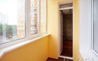 Внутренняя и внешняя покраска балкона