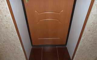 Как штукатурить дверной проем после установки двери?