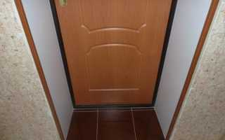 Инструкция: отделка откосов входной двери своими руками
