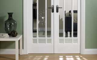 Можно ли поменять стекло в межкомнатной двери?