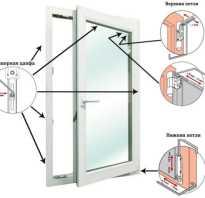 Как разобрать пластиковую дверь балкона?