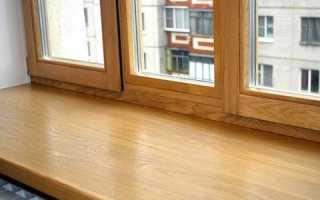 Особенности использования в дизайне подоконников из дерева