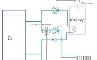 Как подключить термостат к насосу отопления?