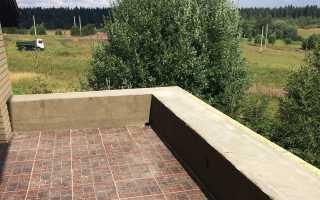 Гидроизоляция открытого балкона под плитку. > %