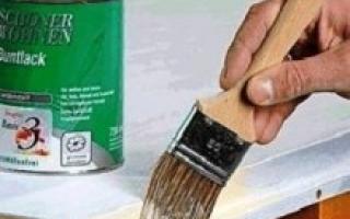 Покраска дверей своими — как покрасить дверь