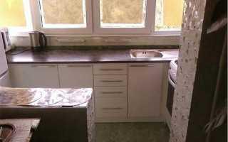 Можно ли делать кухню на балконе?