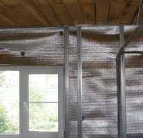 Чем крепить фольгированный утеплитель к стене?
