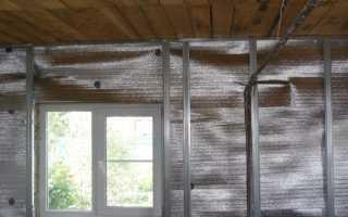 Характеристики и монтаж фольгированного утеплителя для стен