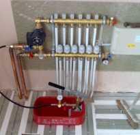 Как выдуть воду из системы отопления?