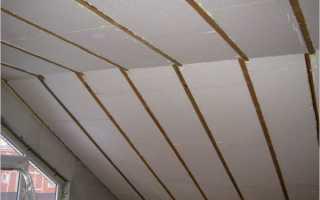 Утепление крыши пенопластом изнутри своими руками: технология