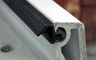 Замена уплотнителей на окнах пвх
