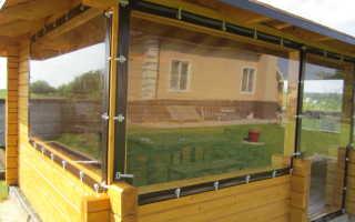 Мягкие окна из пленки ПВХ: где используются?