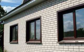 Отделка пластиковых окон снаружи металлическими откосами