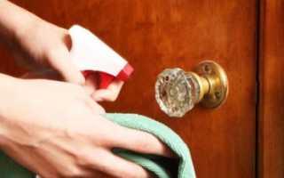 Как отмыть матовые стекла межкомнатных дверей