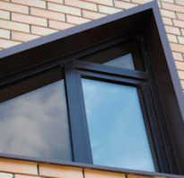Монтаж железных откосов на окна