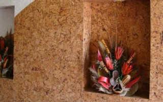Как клеить пробковое покрытие для стен