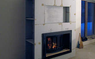 Теплоизоляционные материалы для печей и каминов