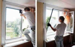 Как разобрать пластиковое окно?