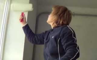 Чем покрасить откосы на окнах внутри — иллюстрированная инструкция