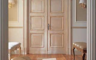 Как правильно изготавливать филенчатые двери?