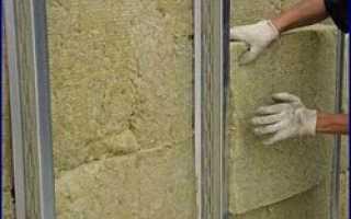 Как утеплить стену пеноплексом и гипсокартоном