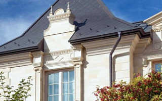 Натуральный камень как украшение и защита фасада вашего дома