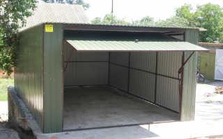 Утепление крыши гаража — изнутри, снаружи, своими руками