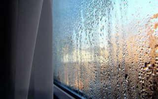 Конденсат: почему пластиковые окна плачут и промерзают