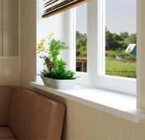 Выбор подоконника для пластикового окна