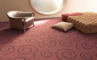 Использование ковролина на стене – способы крепления материала