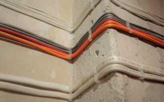 Как прикрепить провод к бетонной стене?
