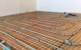 Как сделать теплый бетонный пол — сравнение вариантов теплоизоляции
