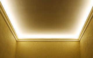 Как установить светодиодную ленту на стену или потолок?