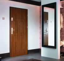 Размеры проёма под входную дверь