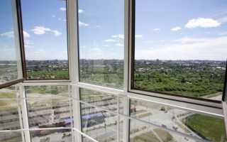Что такое панорамное остекление балкона?