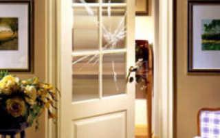 Чем можно заменить стекло в двери?