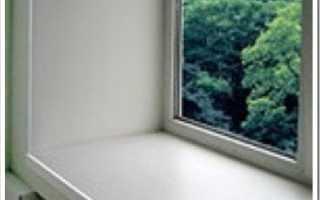 Как покрасить пластиковый подоконник в домашних условиях