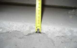 Минимальная толщина стяжки по утеплителю