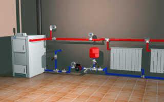 Установка насоса в систему отопления (циркуляционного) частного дома