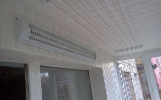 Из чего лучше сделать потолок на балконе?