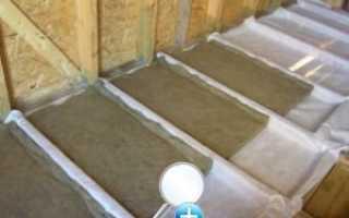 Что нужно знать про утепление потолка глиной