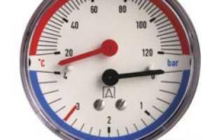 Для чего нужен манометр в системе отопления?