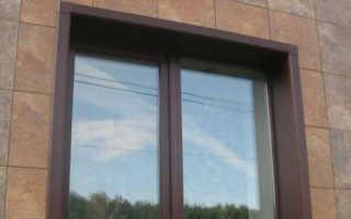 Откосы на окна наружные — назначение, виды, особенности