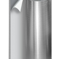 Самоклеющийся утеплитель (теплоизоляция) с фольгой
