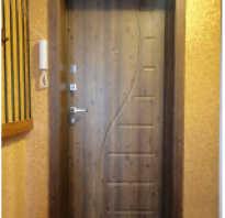 Как обшить порог входной двери?