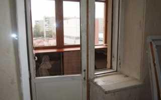 Можно ли поменять балконную дверь без окна?
