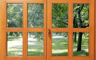 Покраска деревянных окон, подоконников и оконных откосов