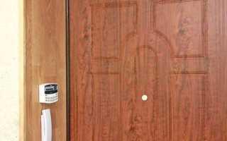 Как отделать ламинатом откосы у входной двери